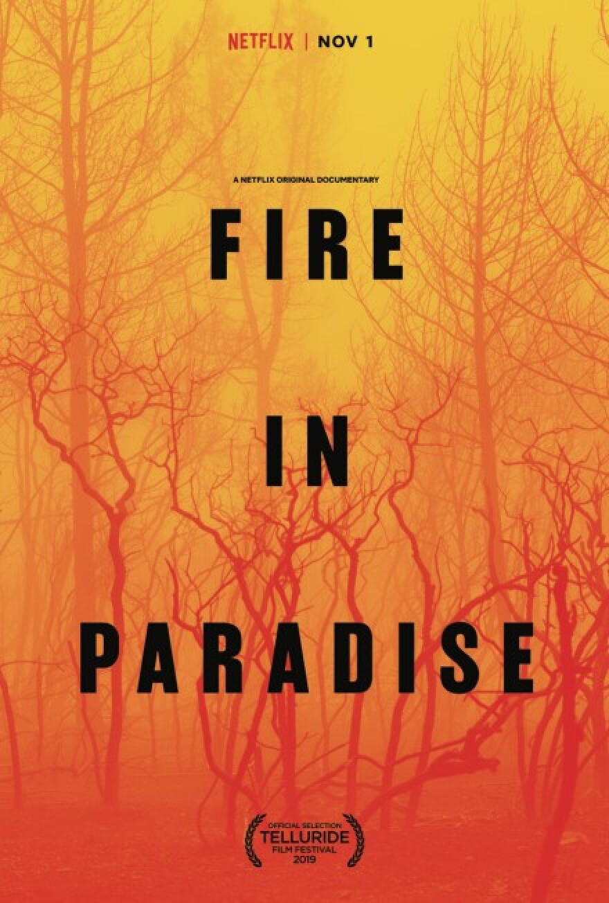 Poster for film Fire in Paradise