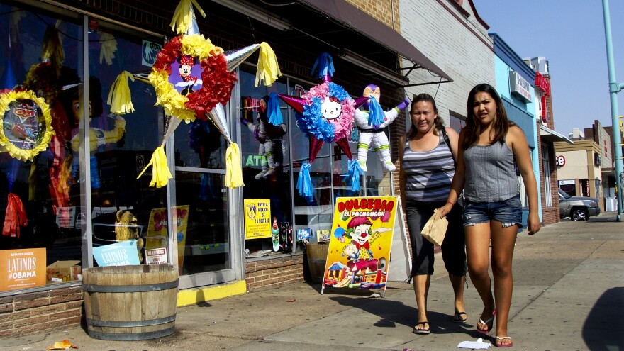 With its many Latino, African and Asian businesses, Colfax Avenue in Aurora, Colo., is a central artery for the city's most diverse neighborhoods. Inexpensive housing and convenient public transportation to jobs in Denver have attracted a highly diverse population to this city.