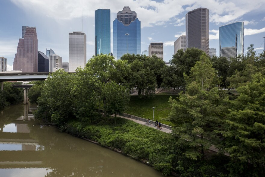 One aspect of Houston's plan is to buy back properties directly adjacent to bayous to prevent catastrophic damage from future floods.