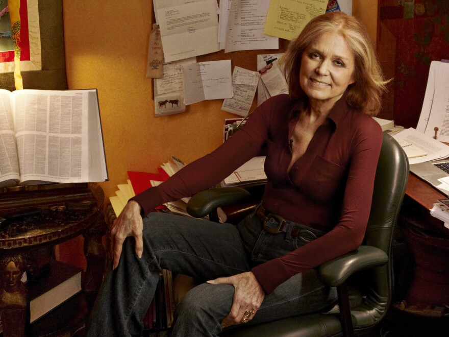 Gloria Steinem co-founded <em>Ms.</em> magazine in 1972 and remained one of its editors for 15 years.