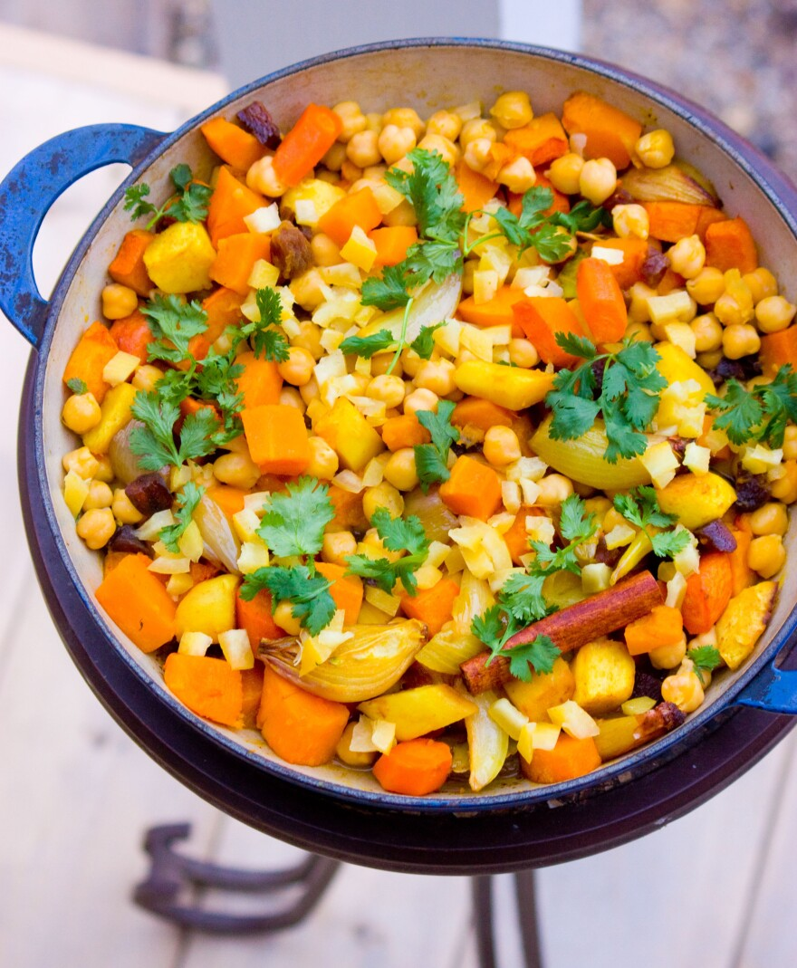 Root Vegetable Couscous With Preserved Lemon