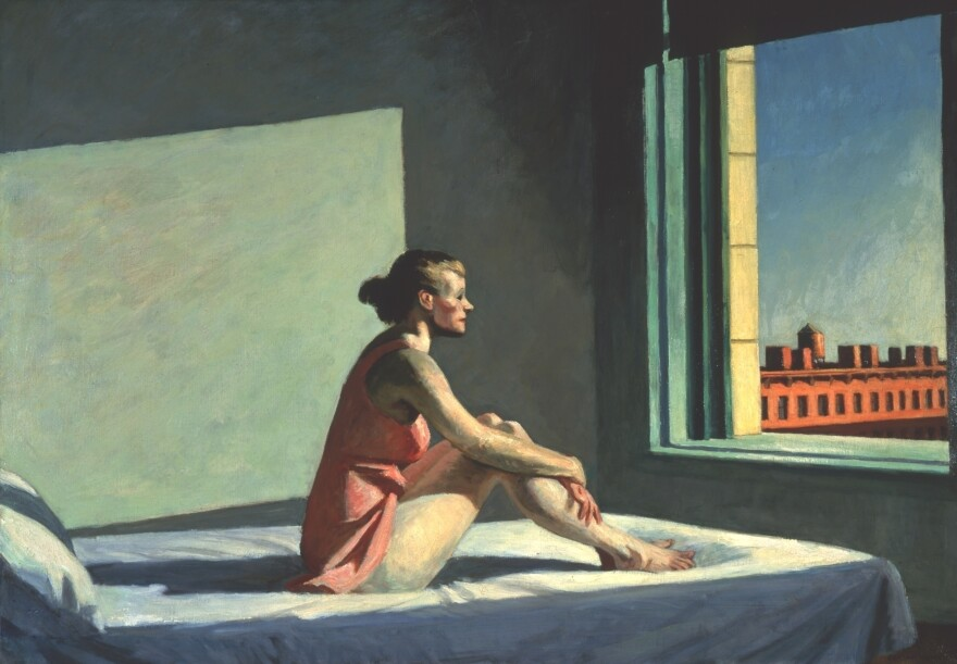 Edward and Josephine Hopper met as young students in art school in New York and married in 1924. Josephine was his only female model, and posed for his  1952 work,<em> <em>Morning Sun</em><em>.</em> </em>