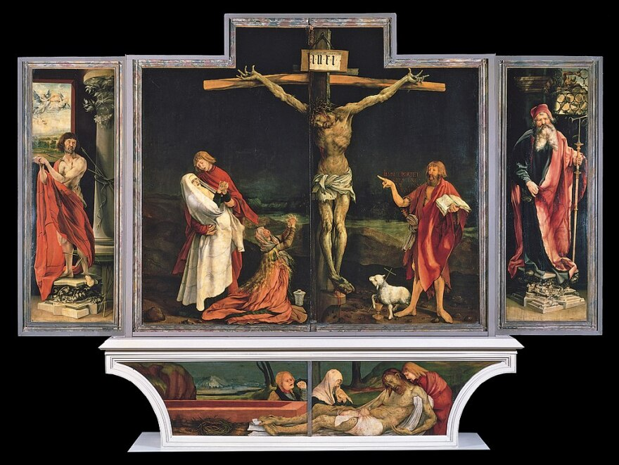 The Isenheim Altarpiece by Matthias Grunewald
