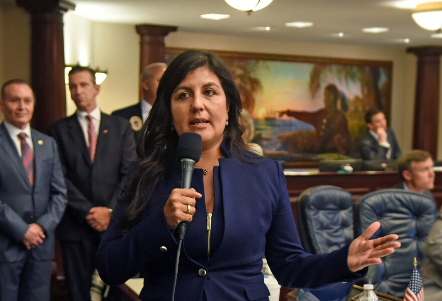 The GOP appeared to hold off Democratic challenges in several hotly contested districts across the state, including Hillsborough County's District 60, where Rep. Jackie Toledo fended off a challenge from  Julie Jenkins.