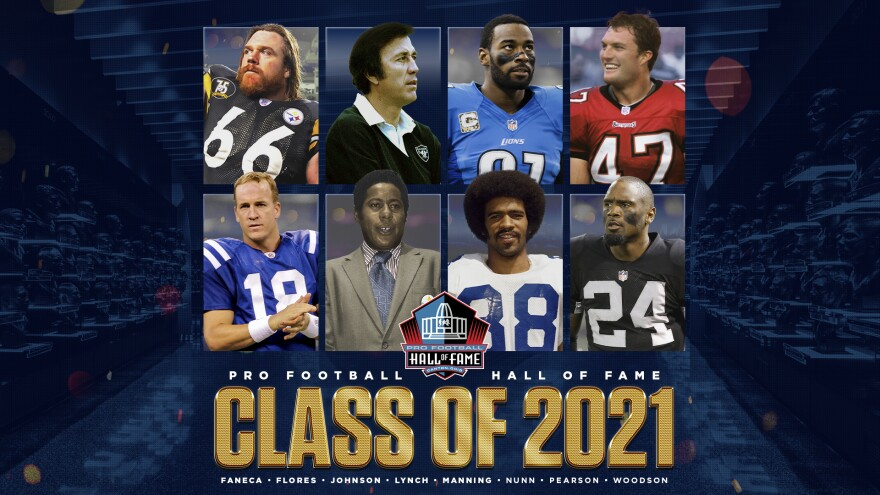 2021 Pro Football Hall of Fame class