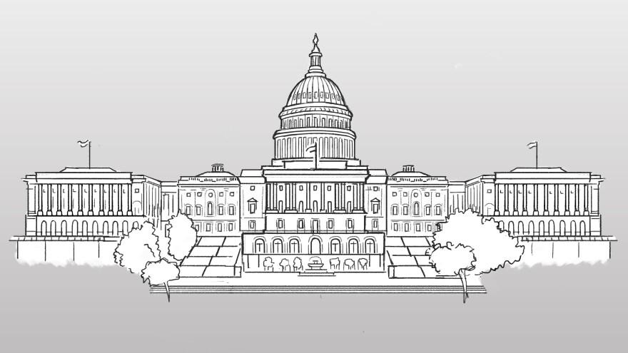 U.S. Capitol illustration