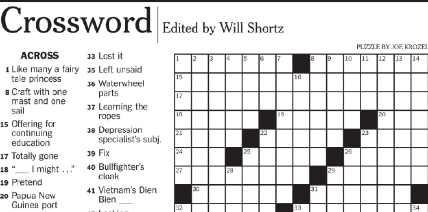 """A <em>New York Times </em>crossword puzzle clue asking for a 5-letter word that means """"Wack, in hip-hop"""" led to an email and an argument over the real meaning of """"illin'."""""""