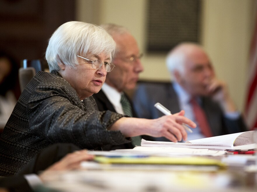 Federal Reserve Chair Janet Yellen and other policymakers will meet in Washington, D.C., this week to weigh a possible increase in interest rates.