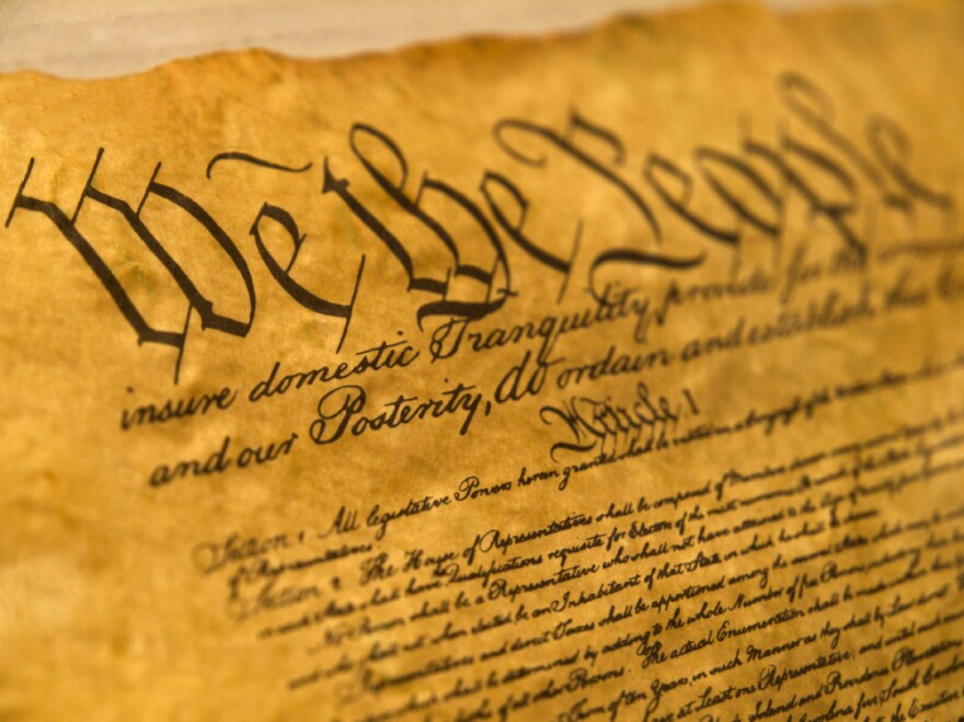 The United States Constitution sets the framework for how U.S. government is organized.