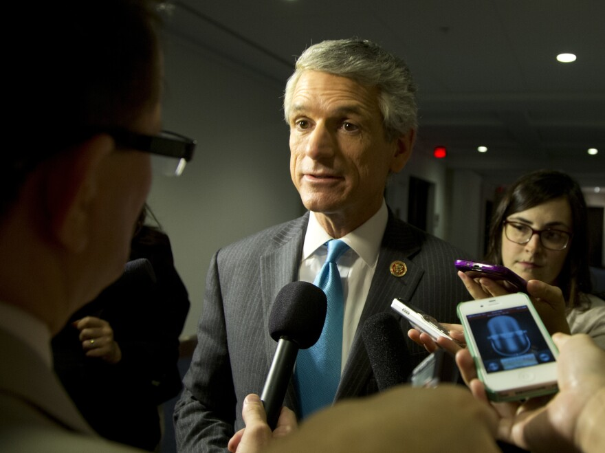 """Rep. Scott Rigell, R-Va, is one of 21 Republicans who have publicly signaled their support for a """"clean"""" spending bill."""