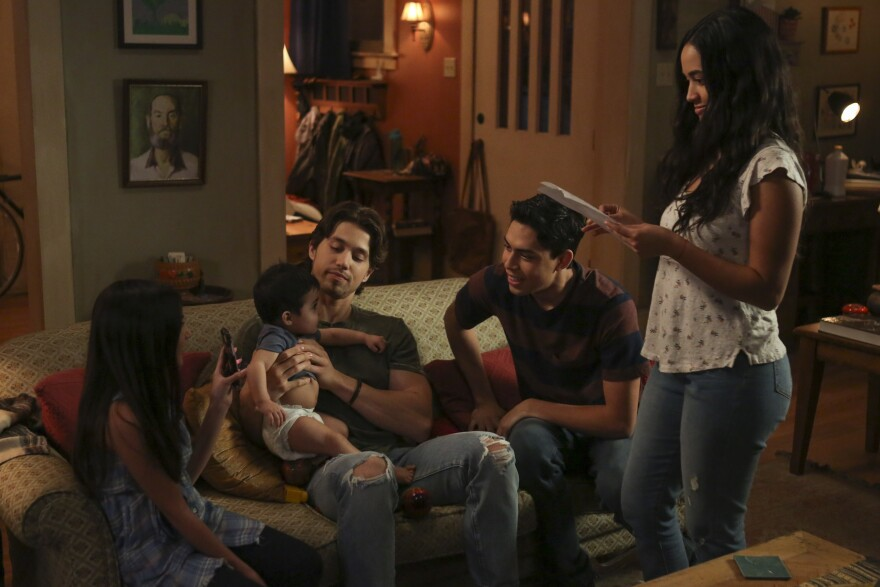 The Party of Five reboot centers on five Latinx siblings who are left to navigate life on their own after their parents are deported.