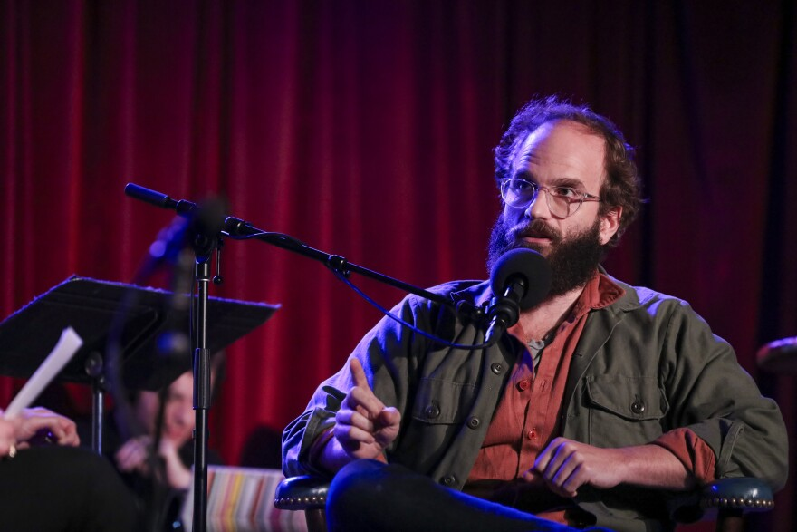 Ben Sinclair at the Bell House in Brooklyn, New York.