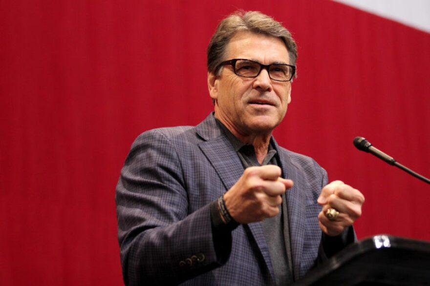 Donald Trump tapped former Texas Gov. Rick Perry for Secretary of Energy.