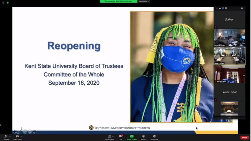 Kent State Board of Trustees special meeting