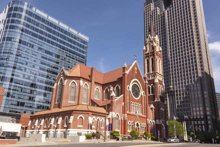 Cathedral Shrine of the Virgin of Guadalupe in Downtown Dallas