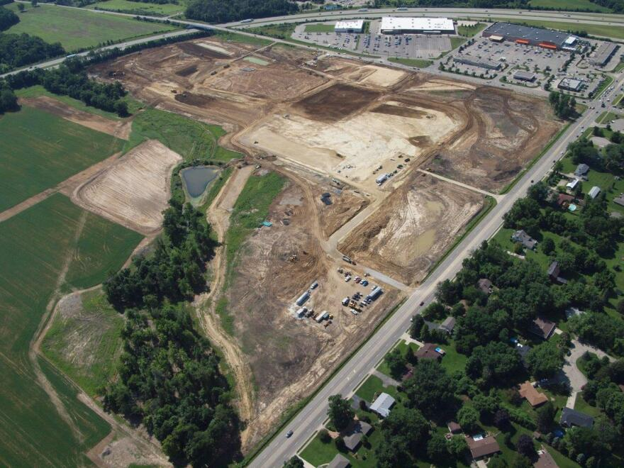 of the Cornerstone development near I-675 in Centerville. Costco opened there in November 2014.