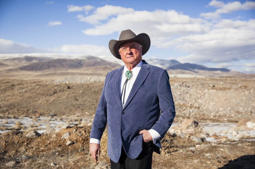 Lance Gilman is a county commissioner and the owner of the famous Mustang Ranch brothel,<em> </em>an important source of revenue for the county.
