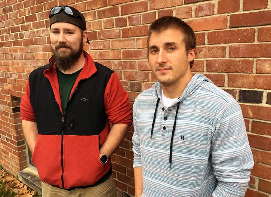 Cody Stevens and Cole Hamilton