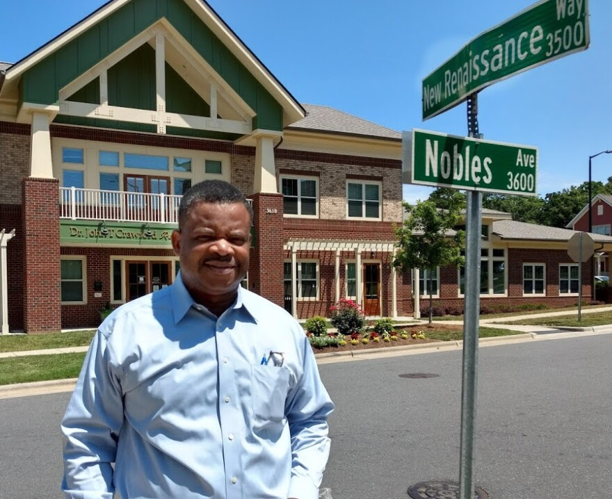Mack McDonald is CEO of the Renaissance West Community Initiative, which coordinates services in the neighborhood.