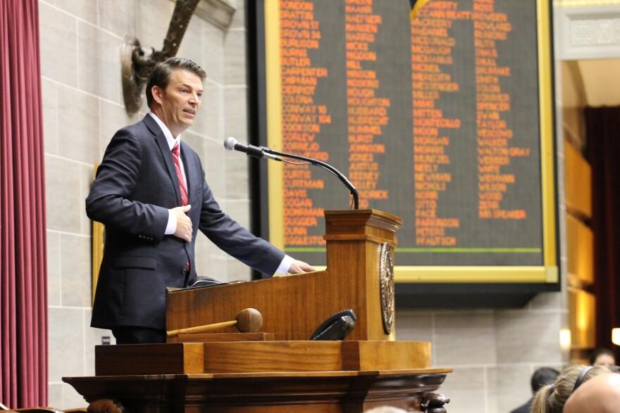 House Speaker Todd Richardson, R-Poplar Bluff.