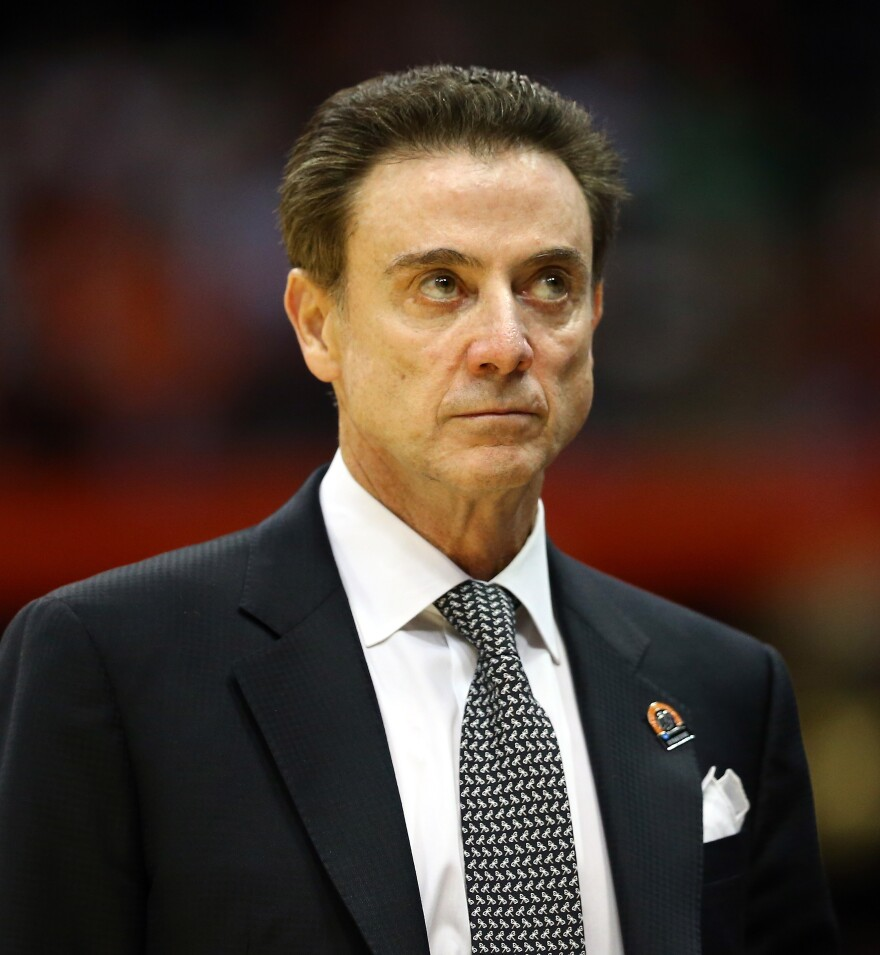 Louisville head basketball coach Rick Pitino has urged his former assistant coach, Andre McGee, to respond to allegations that McGee set up dorm room sex parties for recruits.