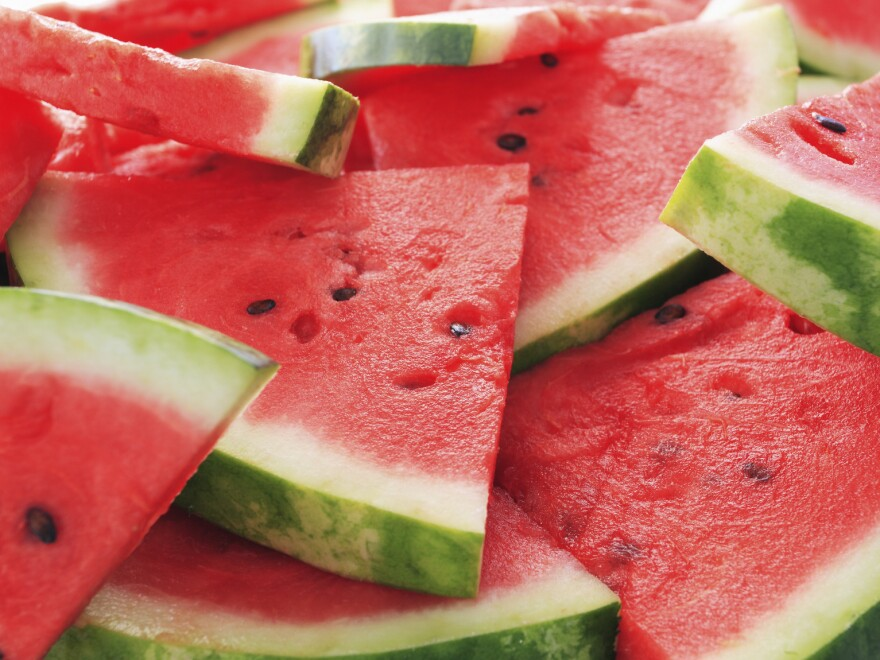 Watermelon with seeds is getting harder to find at the supermarket.