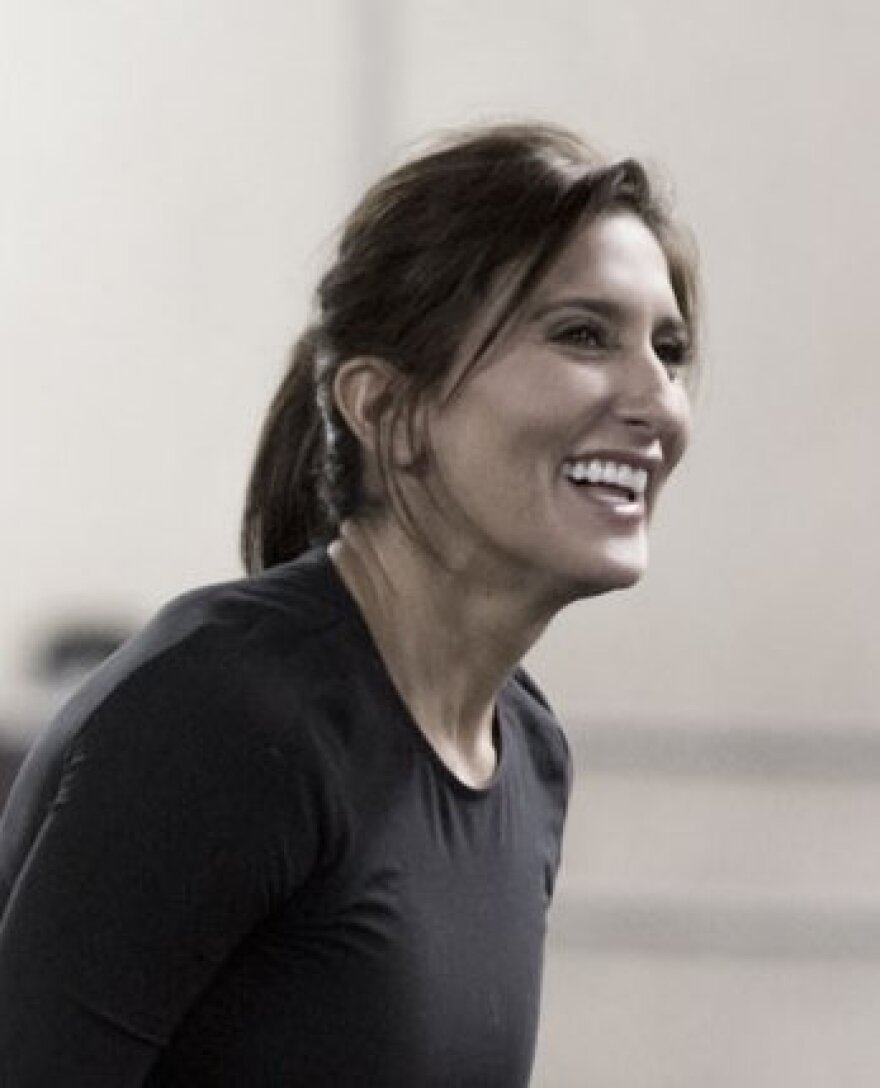 Choreographer Stephanie Martinez, 49, seen in this file photo, enlisted her 24-year-old sister to compose the music for Destino, Roto, which became a bonding experience.