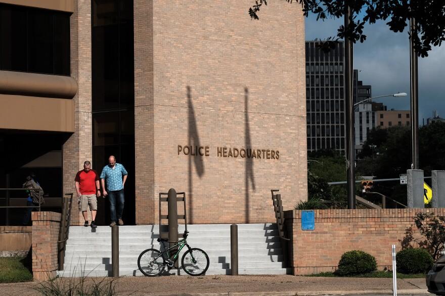 The Austin Police Department Headquarters.