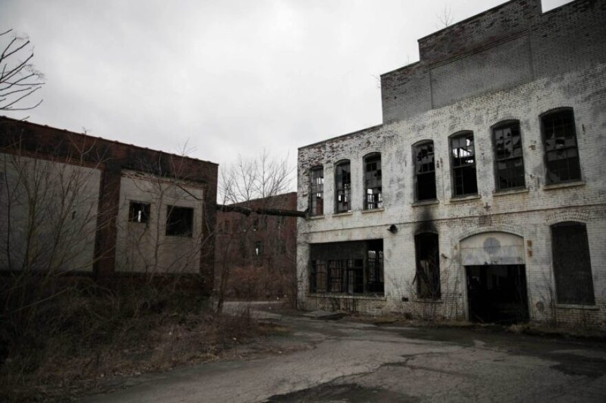 photo of abandoned factories