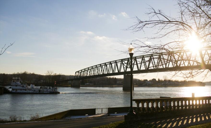 a photo of The Ohio River in Marietta