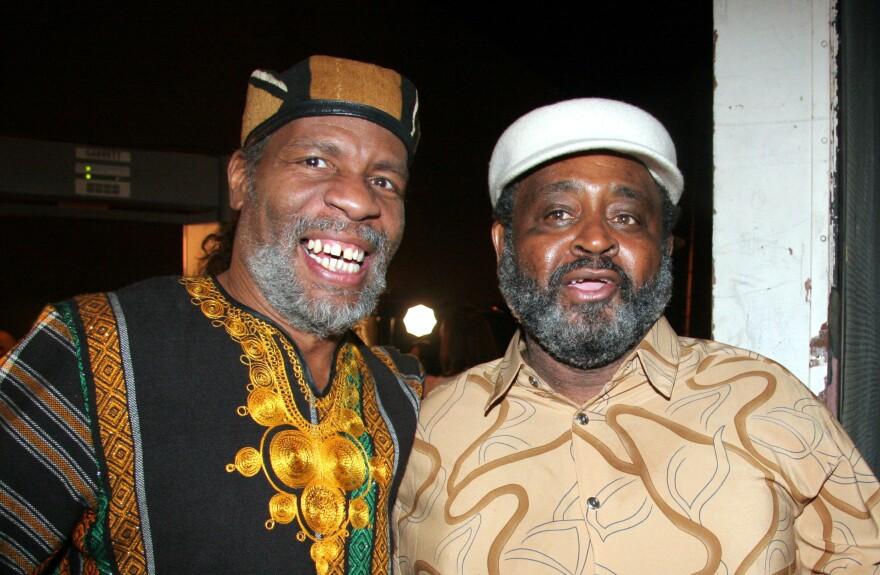 Abiodun Oyewole and Umar Bin Hassan of The Last Poets.