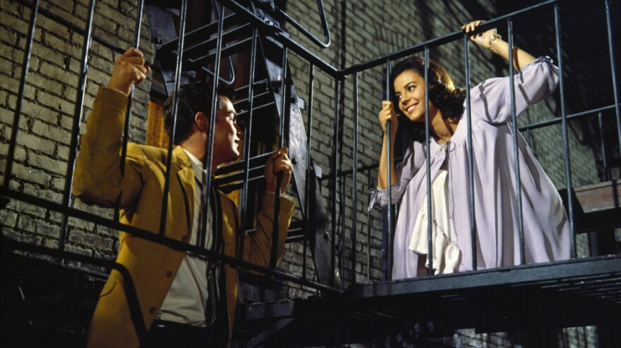 <strong>'Tonight' Music:</strong> Richard Beymer and Natalie Wood played Tony and Maria in the 1961 film of <em>West Side Story.</em>