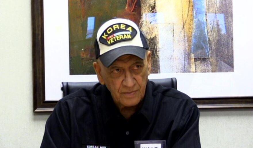 Walter Schoenke, interviewed in 2014 by the Missouri Veterans History Project.