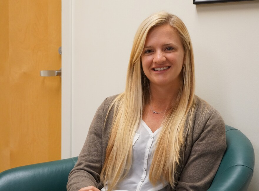 St. Louis University medical resident Haley Bray led the study on head and neck melanoma rates in young people.
