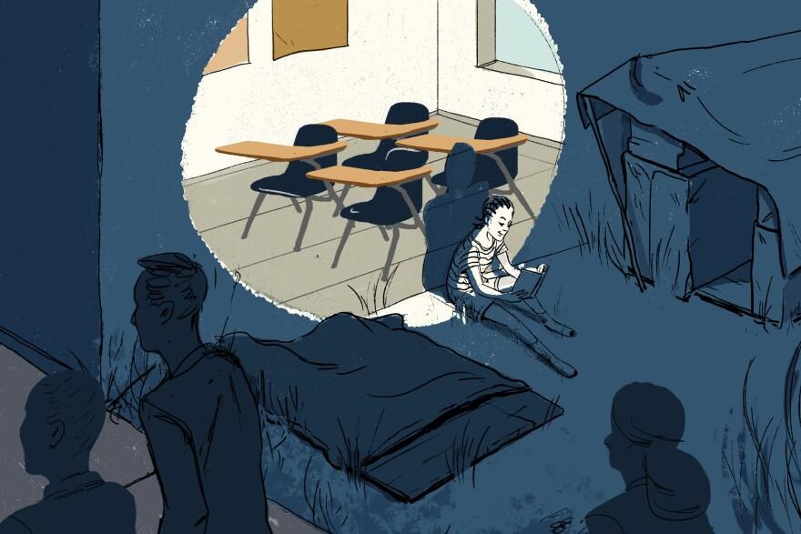 Homeless student