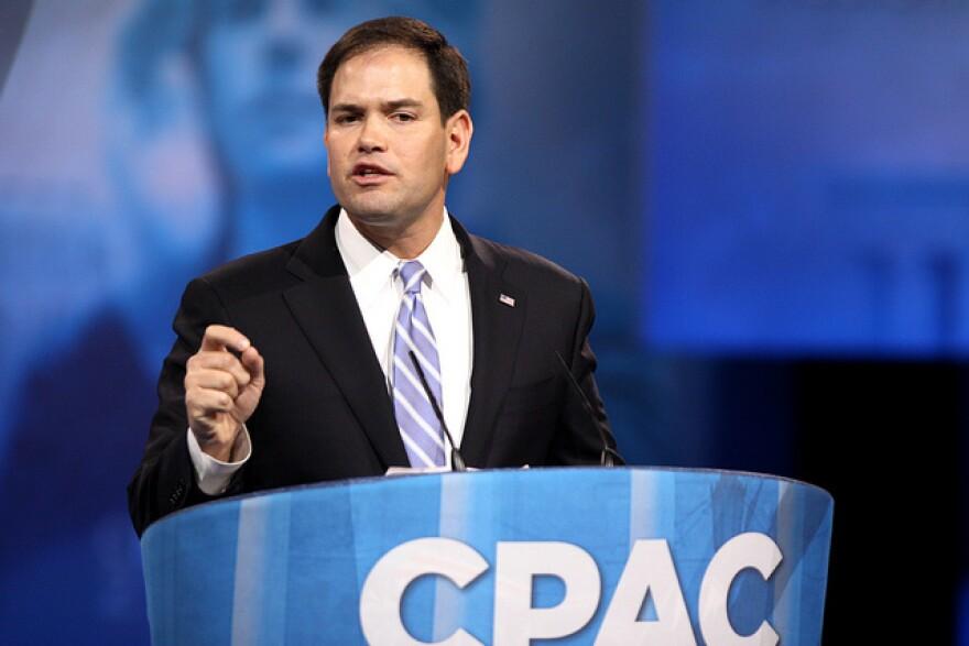 U.S. Senator Marco Rubio.