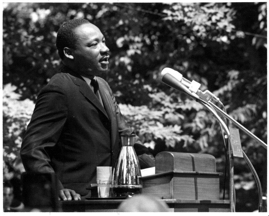 Martin Luther King's 1965 commencement speech at Antioch College