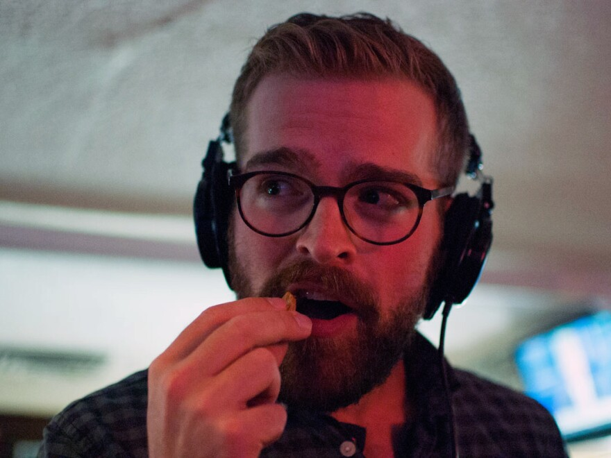Five years after moving to Colorado, KUNC reporter Luke Runyon tries his first Rocky Mountain Oyster.