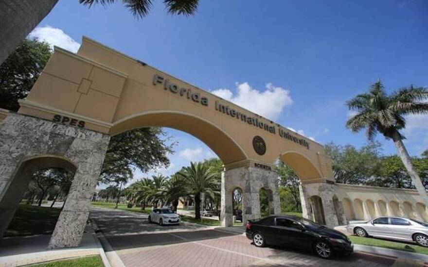 Florida International University President Mark Rosenberg says the school is working toward improving its ratio of mental health counselors to students.