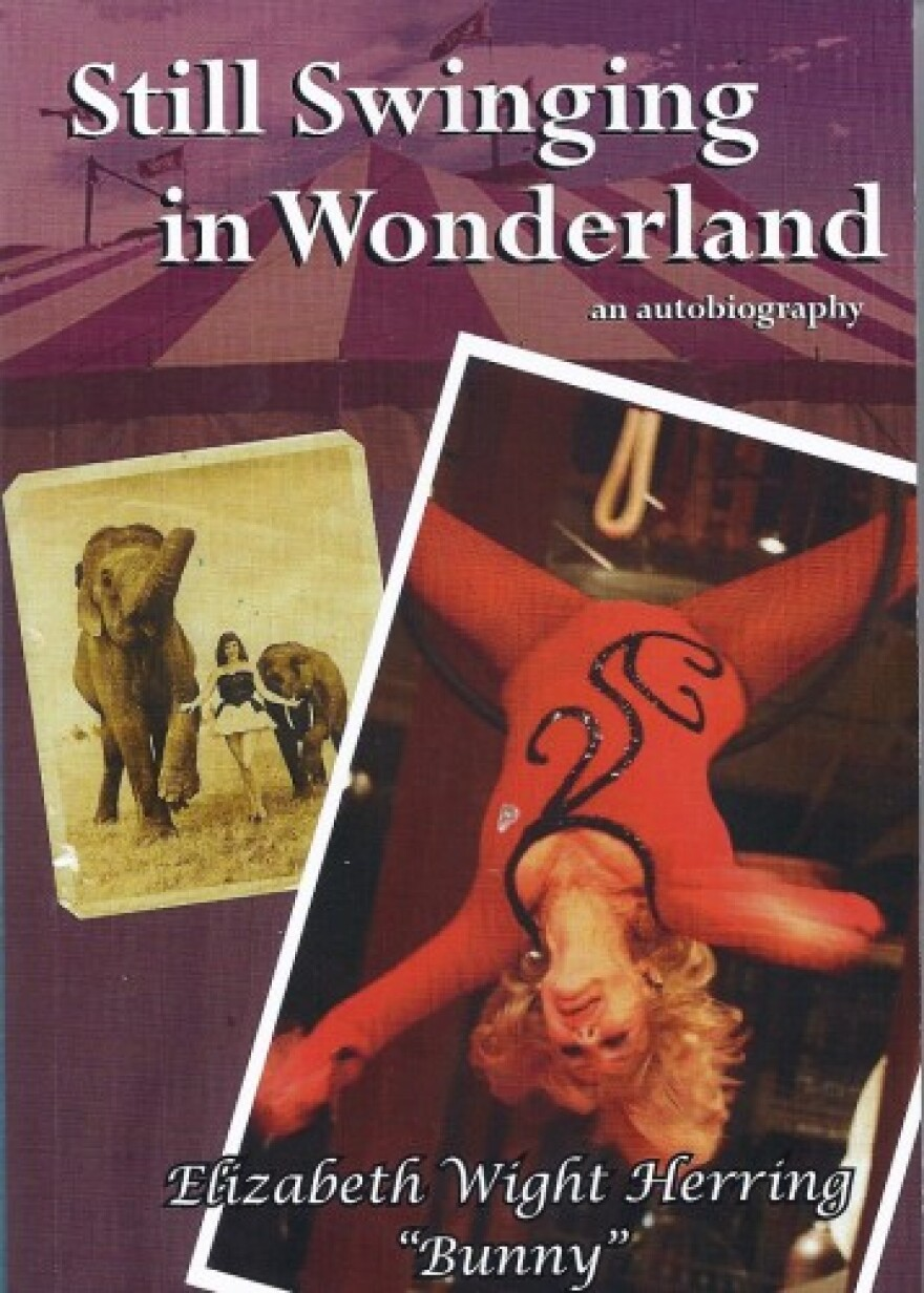 "Book cover from ""Still Swinging in Wonderland"" by Elizabeth Herring"