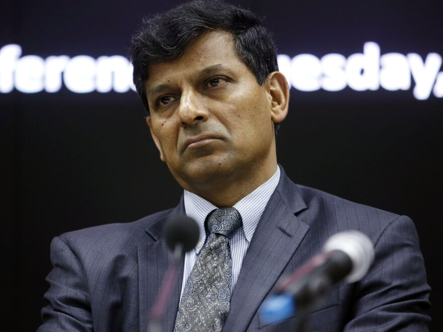 """Raghuram Rajan, former governor of the Reserve Bank of India and author of """"The Third Pillar: How Markets And The State Leave The Community Behind"""""""
