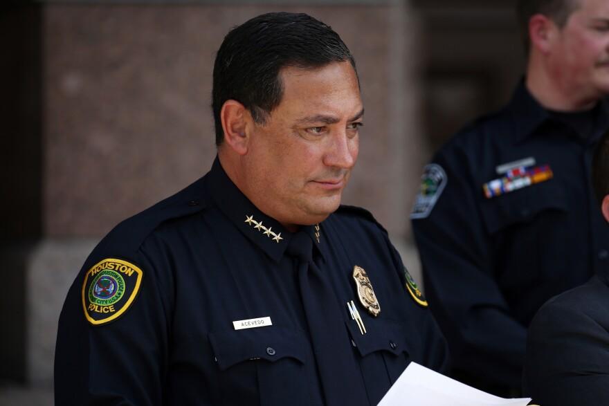 Houston Police Chief Art Acevedo.