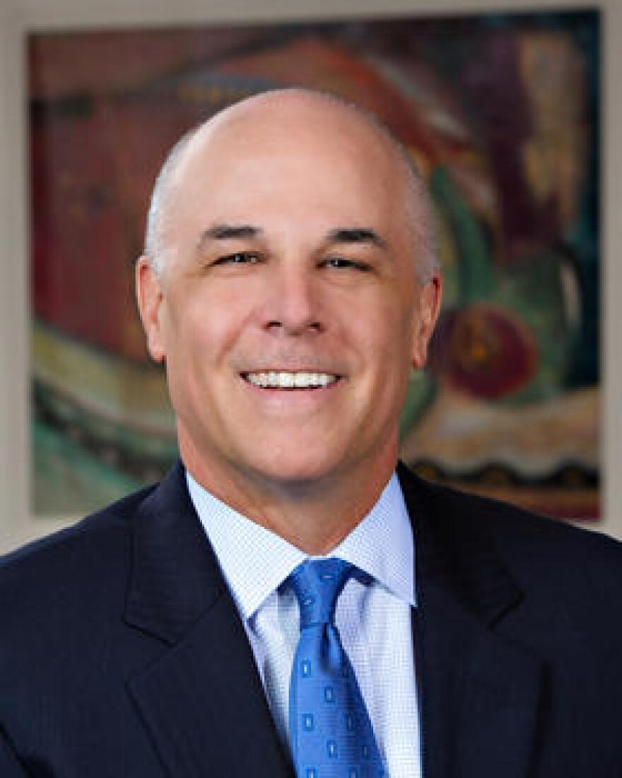 Pat Geraghty became chairman and CEO of Florida Blue in 2011. The company is the largest health insurer in Florida. He's also chairman and CEO of Florida Blue's parent company GuideWell Mutual Holding Corp.