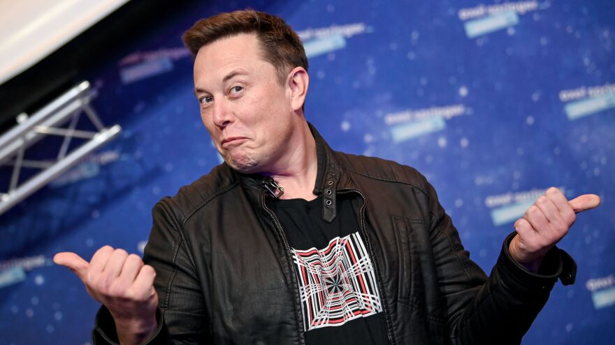 SpaceX owner and Tesla CEO Elon Musk is funding a $100 million competition to find innovative ways to remove carbon from the air or water. He's seen here at an awards show last December.