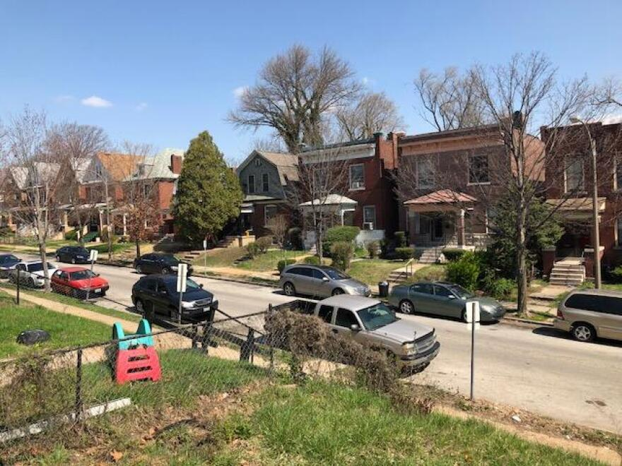 """Lotus Avenue in the Kingsway West neighborhood of St. Louis was mostly white until the """"white flight"""" era of the 1960s and 1970s."""