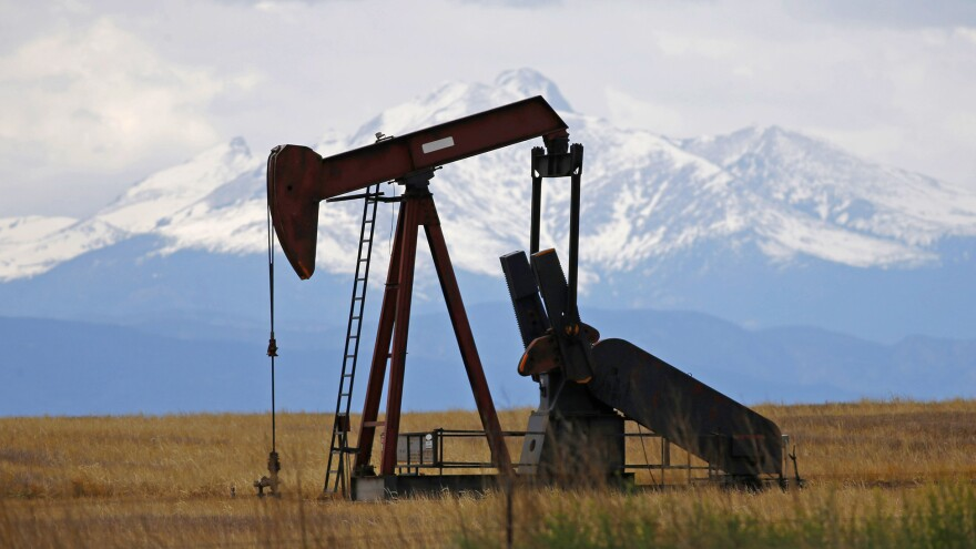 A pump jack at work in 2016, near Firestone, Colo. The American Exploration & Production Council, which represents oil and gas exploration firms, is one of many industry groups supporting the HONEST Act, which was passed by the House and is now with the Senate.