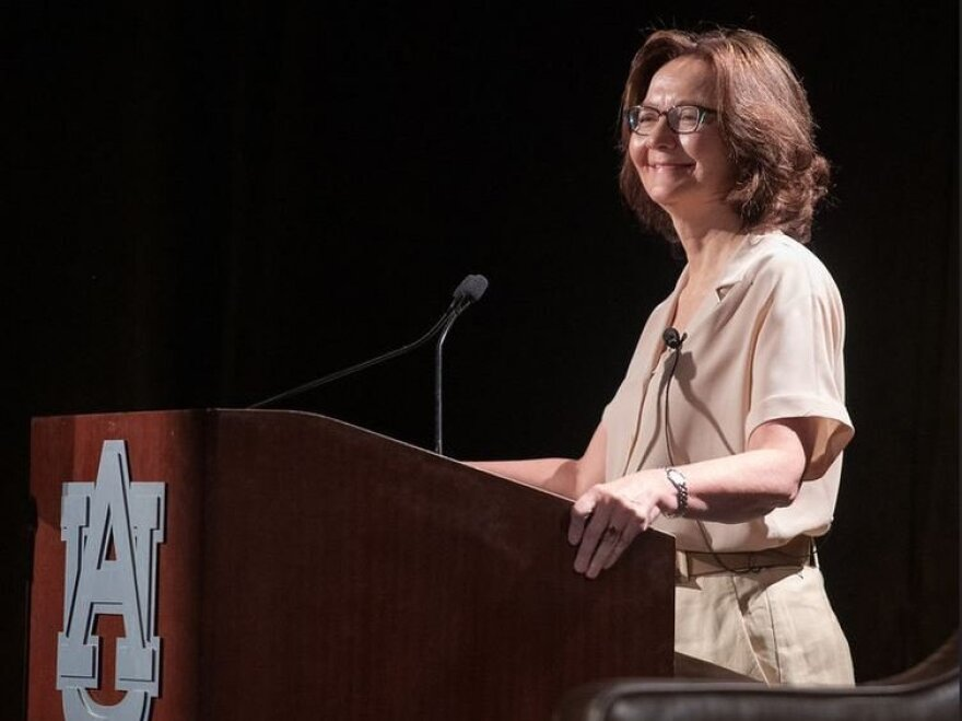 "CIA Director Gina Haspel has made just two public speeches since she took over the top job a year ago and has emphasized recruiting in both of them. In this speech at Auburn University in April, she said, ""We just had our best recruiting year in a decade."""