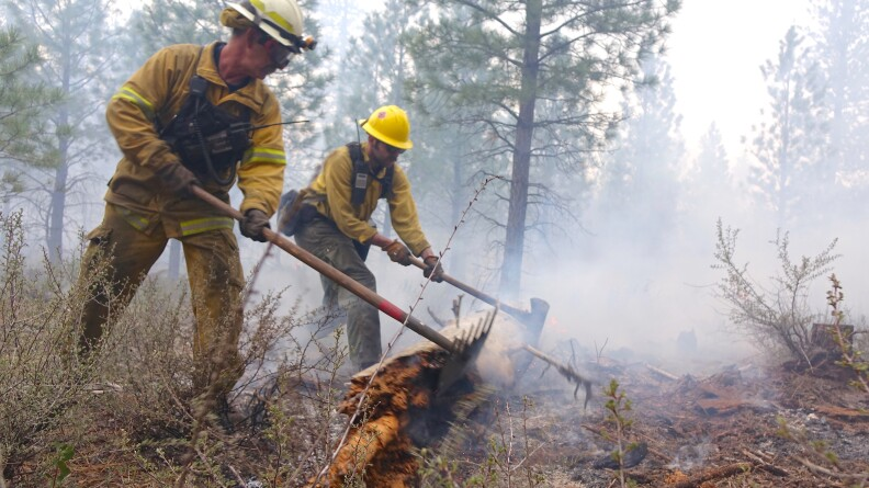 A bill that's been introduced to Congress advocates for federal firefighters and hits close to Cody