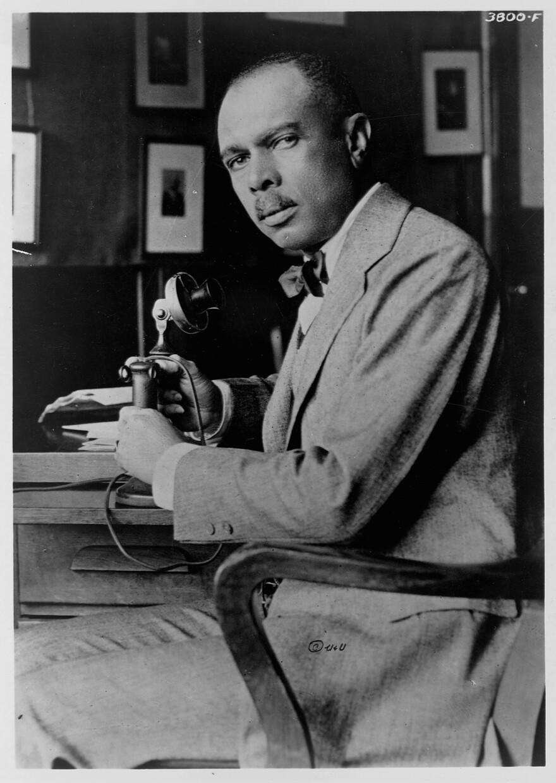 American writer and activist James Weldon Johnson (1871-1938), circa 1925.