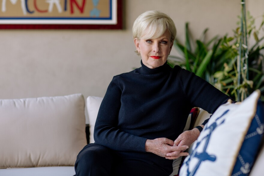 Cindy McCain at home in Phoenix.